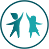 Circel iconen WvH_kinderen_petrol_